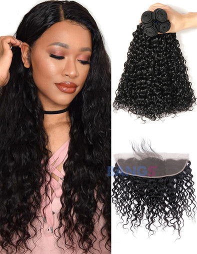 water wave brazilian virgin hair