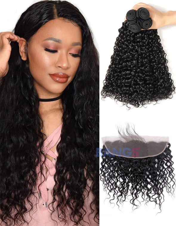 water wave bundles and frontal