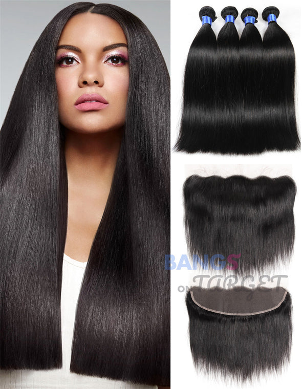 3 bundles of brazilian straight hair