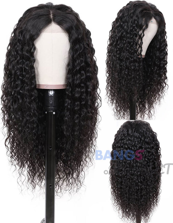 water wave wig with closure