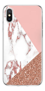 Site Officiel 10 4 5 5 6 6 7 8 Flamant Marbre Pour Iphone X Xs Xs Max Coque Pour Iphone S Se S Plus Plus Fundas Tpu
