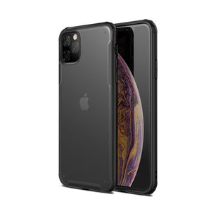 Pour Apple iPhone 11 étui mat couverture rigide peau translucide pour iPhone 11 Pro Max iPhone11