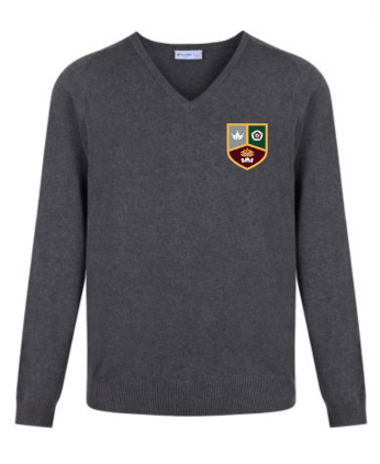 Tudor Grange Academy V Neck Sweater