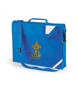Bishop Wilson C of E Primary School Large Book Bag With Sholder Strap