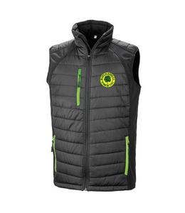 MGFC Result Black Compass Padded Gilet