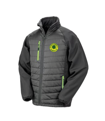 MGFC Result Black Compass Padded Jacket
