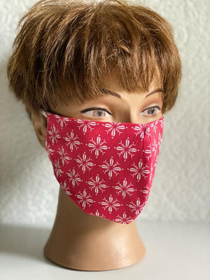 Premium-Maske: Hawaii in Rot