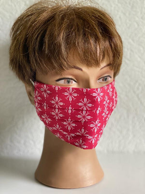 Maske Hawaii in Rot
