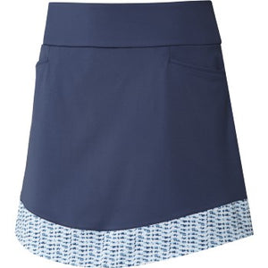 "Adidas - Ultimate 365 Printed Knit Skort (16"")"
