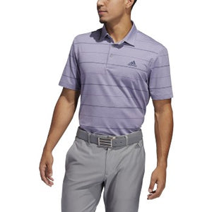 Adidas - Ultimate 365 Heathered Stripe Polo