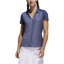 Load image into Gallery viewer, Adidas - Stripe Short Sleeve Polo