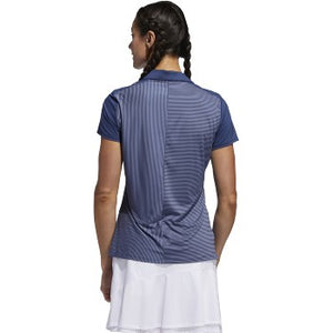 Adidas - Stripe Short Sleeve Polo