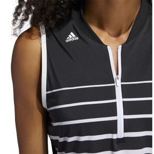 Adidas - Engineered Stripe Sleeveless Polo