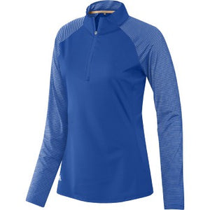 Adidas - Solid UPF Long Sleeve Polo
