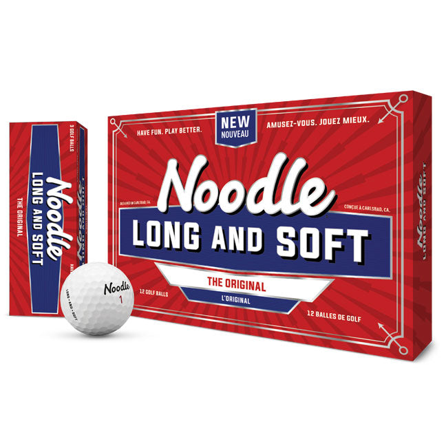 TaylorMade - Noodle Long & Soft Golf Ball (15 Pack)