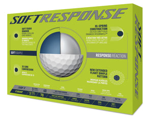 TaylorMade - Soft Response Golf Ball (1 Dozen)
