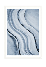 Load image into Gallery viewer, All Blue 3 (CHOOSE FRAME COLOUR) 75x100cm CLEARANCE
