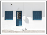 Load image into Gallery viewer, Blue Door Facade