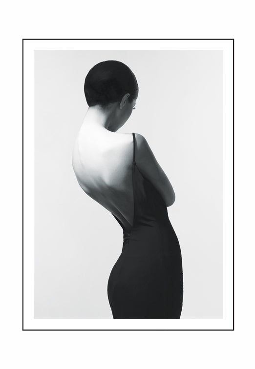 Curve of a Woman MONO (PRINT ONLY with border) 50x70cm Clearance