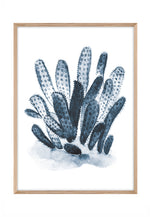 Load image into Gallery viewer, Coral Watercolour 2 (CHOOSE FRAME COLOUR) 65x90cm CLEARANCE
