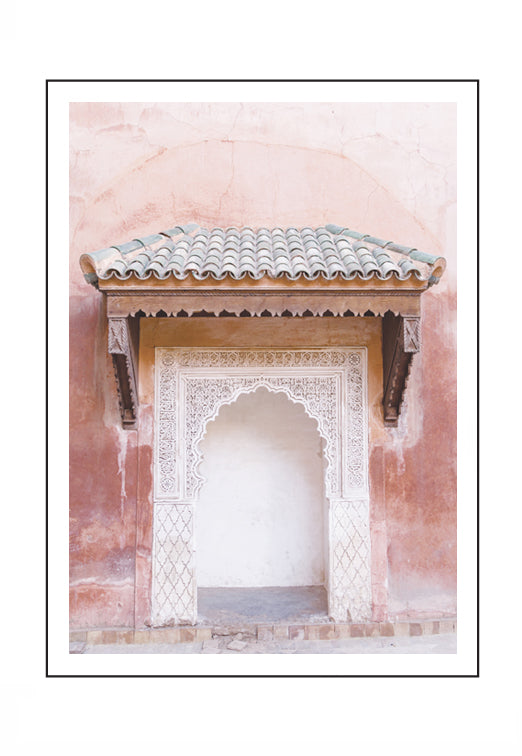 Marrakesh Pink (PRINT ONLY with border) 50x70cm Clearance