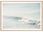 Load image into Gallery viewer, Morning Surf (CHOOSE FRAME COLOUR) 75x100cm CLEARANCE