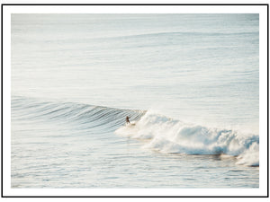 Morning Surf (CHOOSE FRAME COLOUR) 75x100cm CLEARANCE