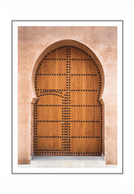 Load image into Gallery viewer, Moroccan Entrance (CHOOSE FRAME COLOUR) 75x100cm CLEARANCE