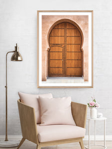 Moroccan Entrance (CHOOSE FRAME COLOUR) 75x100cm CLEARANCE