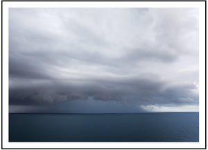 Perfect Storm (CHOOSE FRAME COLOUR) 75x100cm CLEARANCE