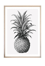 Load image into Gallery viewer, Pineapple Queen (CHOOSE FRAME COLOUR) 65x90cm CLEARANCE