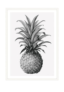 Pineapple Queen (CHOOSE FRAME COLOUR) 65x90cm CLEARANCE