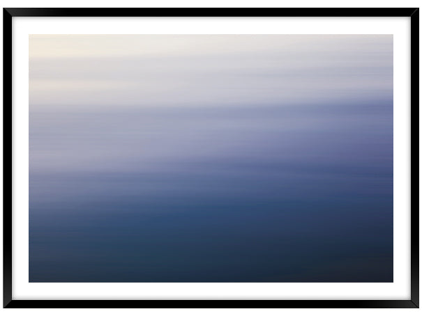 Purple Waters (CHOOSE FRAME COLOUR) 75x100cm CLEARANCE