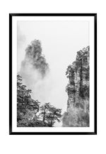 Load image into Gallery viewer, Zhangjiajie Grey 1 (CHOOSE FRAME COLOUR) 65x90cm CLEARANCE