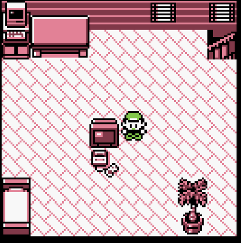 Pokémon Red Gameplay Screenshot Pallet Town Gameboy Color