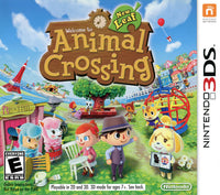 Animal Crossing New Leaf Nintendo 3DS Game Cover Box Art