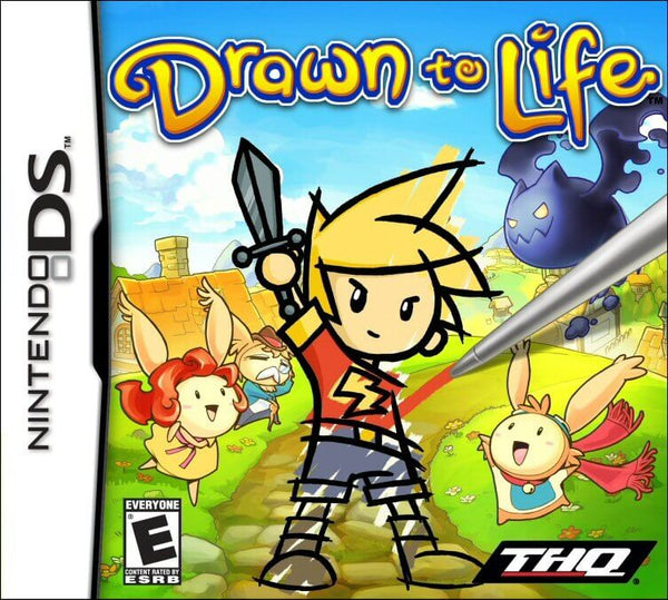 Drawn To Life Nintendo DS Game Box Art