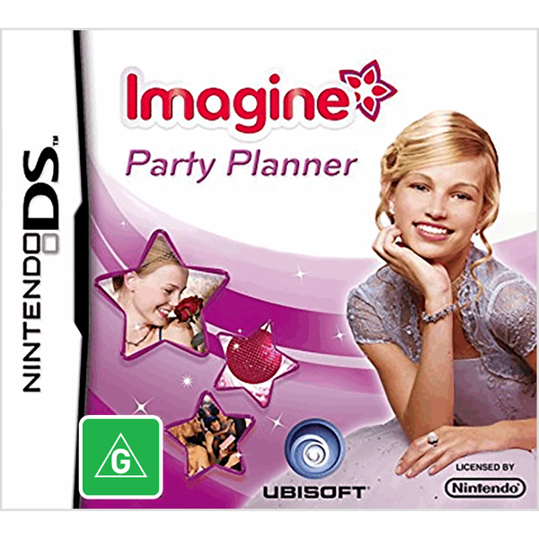 Imagine Party Planner Nintendo DS Game