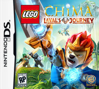 Lego Legends of Chima: Laval's Journey Nintendo DS Game Box Art