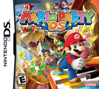 Mario Party DS Game Box Art