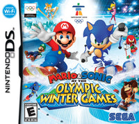 Mario & Sonic at the Winter Olympic Games DS Box Art