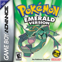 Pokémon Emerald Version Game Boy Advance GBA Box Art