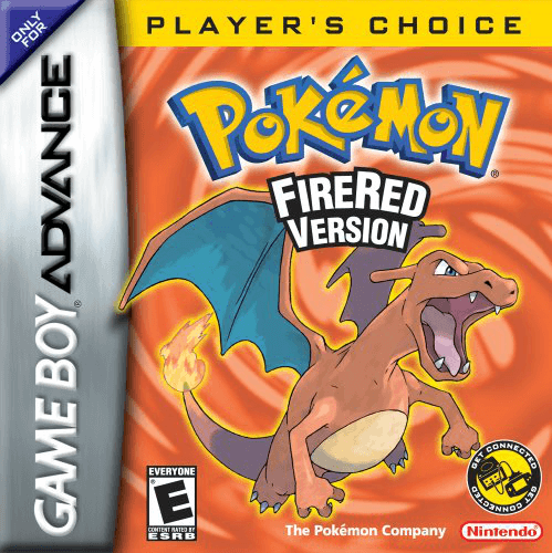 Pokemon FireRed Version Gameboy Advance GBA Box Art