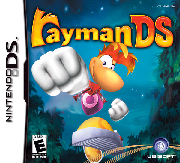 Rayman DS Nintendo DS Game Box Art Cover