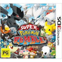 Super Pokémon Rumble Nintendo 3DS Game Box Art