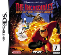 The Incredibles: Rise of the Underminer Nintendo DS Game Box Art
