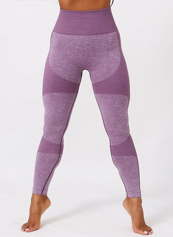 Knitted High Waist Fitness Leggings