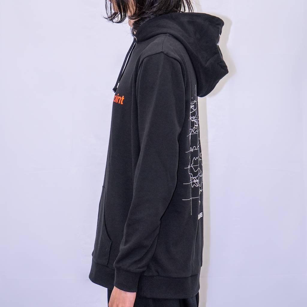 pubg Find The Drop Point Hoodie Black サイド