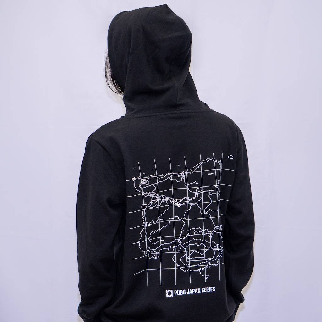 pubg Find The Drop Point Hoodie Black フード