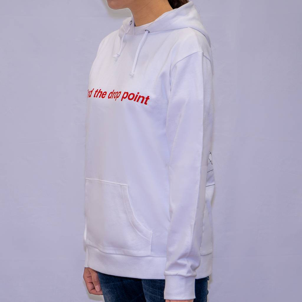 pubg Find The Drop Point Hoodie White サイド